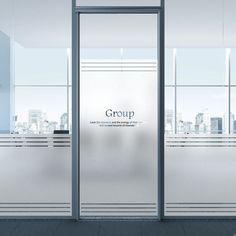 Corporate Office Design, Office Space Design, Dental Office Design, Office Interior Design, Office Interiors, Glass Sticker Design, Glass Film Design, Glass Office Doors, Office Graphics