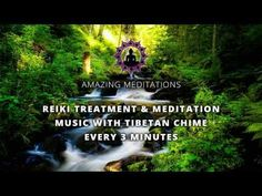 Reiki Timer with Music - Nature Sounds, Windchimes and Wooden Flute with 26 x 3 minute bell timer - YouTube