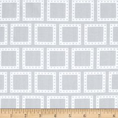 Color Composition Squares Grey from @fabricdotcom  Designed by Studio RK for Robert Kaufman, this cotton print is perfect for quilting, apparel and home decor accents.  Colors include grey and white.