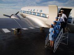 O avião pertence ao antigo Museu Varig, que funcionou até 2005  (Foto: Roberto Furtado/Divulgação)