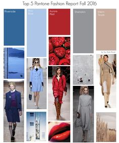 Fall pantone colours by Your STyle Mood  #pantone #fall2016 #topcolours…