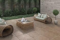 Terrazas - Aplicaciones - Hazlo con Cerámicos Outdoor Furniture Sets, Outdoor Decor, Exterior, Home Decor, Rooftops, Outdoor Furniture, Decks, Decoration Home, Room Decor
