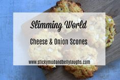 Who said diets had to be boring? Check out these delicious Slimming World Cheese and Onion Scones. Syn free as H/E Slimming World Desserts, Slimming World Recipes Syn Free, Slimming World Diet, Slimming Eats, Easy Tart Recipes, Free Recipes, Scone Recipes, Baking Recipes, Breakfast Recipes