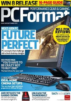 PC Format Magazine - www.pcformat.techradar.com    #pcformat #magazine #techradar #futurepublishing #bathjobs #londonjobs #futurejobs