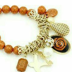 Selling this Beaded charm bracelet NWT on Poshmark! My username is: jilld731. #shopmycloset #poshmark #fashion #shopping #style #forsale #Jill Marie Boutique #Jewelry