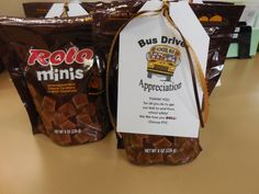 Gifts for bus driver appreciation week Teacher Treats, School Treats, School Gifts, Bus Driver Appreciation, Staff Appreciation Gifts, Bus Driver Gifts, School Bus Driver, Teacher Christmas Gifts, Teacher Gifts
