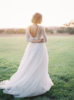 Samuel Couture gown: http://www.stylemepretty.com/2015/04/08/under-the-oaks-styled-shoot/   Photography: Kurt Boomer - http://kurtboomer.com/