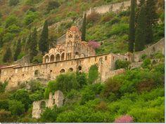 Mystras, near Sparta, Byzantin Monastery
