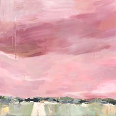 """""""Sailor's Delight"""" Contemporary Abstract Landscape Acrylic Painting by Donna Weathers 36x36 