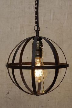 Cool pendant light.