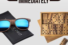 A stylish pair of cherry wood sunglasses that'll truly make you a trendsetter. | 25 Beautiful Wood Products You'll Want To Buy Immediately