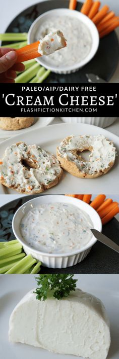 Veggie cream cheese (paleo, AIP) from Flash Fiction Kitchen