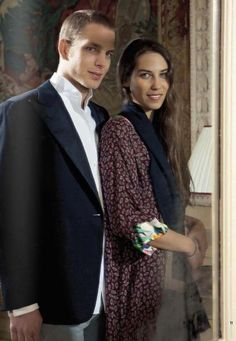 MONACO NEWS, ANDREA CASIRAGHI: Andrea Casiraghi, the older son of HRH Princess Caroline of Hanover and second in line to succeed Prince Albert, will marry his long-time sweetheart Tatiana Santo Domingo this Saturday August 31, 2013 in an intimate gathering at the Prince's Palace. The bride is daughter of the Colombian businessman Mario Santo Domingo and the Brazilian Vera Rechulski. The couple, who met through Charlotte Casiraghi, have a little son called Sasha born March 21, 2013.