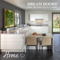 Your home should be a safe space you love to spend time in, so whether you have a big family or live with a roommate, partner or alone, you should love the space you're in. Part of making your space into a home you love is creating the perfect kitchen space for your lifestyle. ❤️ Whether you're an avid cook, a social butterfly or you want a stylish statement kitchen, Dream Doors can bring to life your ideal kitchen! Old Kitchen, Big Family, Roommate, Kitchen Inspiration, Your Space, Butterfly, Cook, Lifestyle, Live