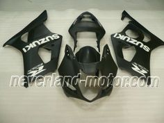 SUZUKI GSX-R 1000 2003-2004 K3 ABS Fairing - Black #2003GSXR1000fairingkit #2004GSXR1000fairingkit