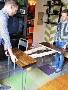 Inspiracja - zrobienie rozsuwanego stołu