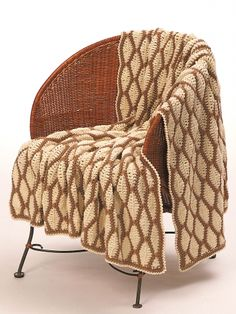 Afghan | Yarn | Free Knitting Patterns | Crochet Patterns | Yarnspirations