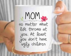 mothers day gift mothers day from daughter mom from daughter mom coffee mug mom mug gifts for mom mom gift mothers day mug by artRuss on Etsy Happy Mothers Day Gifts, Mothers Day Signs, Diy Gifts For Mom, Mothers Day Crafts, Mother Day Gifts, Christmas Mom, Diy Christmas Gifts, Valentine Gifts, Mother's Day Mugs