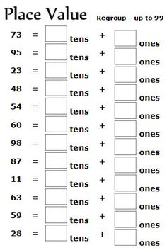math worksheet : math worksheets for 2nd graders  go to top place value worksheets  : Math Worksheets 2nd Grade Printable