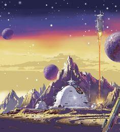 70s Sci-Fi Art: Vincent Di Fate
