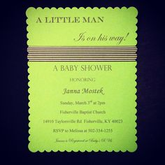 Janna's invitation using Washi Tape