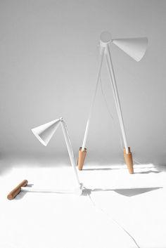 Foldy Lamp by Ia Kutateladze