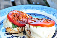 Caprese Grilled Chicken #LowGI