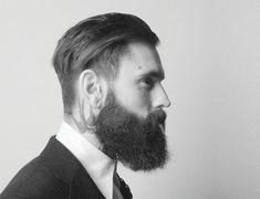 Full Beard beast look