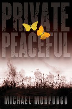 Private Peaceful, Michael Morpurgo. The king of children's literature. The breakdown of a fraternal relationship set amidst the backdrop of World War 1 and the horrors of the trenches.