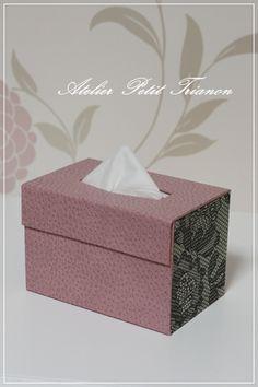 * ~ ♪ I was able to pocket tissue box *: Petit Trianon *** cartonnage & interior ***