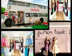 Who would've thought that fashionistas could make such great truck drivers? Jumping on the popular food truck bandwagon, fashion trucks have now become all the rage in most major US cities. Mobile Boutique, Mobile Shop, Mobile Fashion Truck, Prom Boutiques, Clothing Boutiques, Craft Shed, Mobile Business, Pop Up Shops, Tents