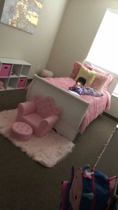 Big Girl Rooms, Girl Bedrooms, Love Home, Baby Fever, Future Baby, Kids Bedroom, Playroom, Toddler Bed, Furniture