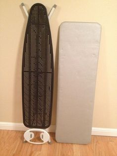 Convert a regular ironing board into a quilter's ironing board - step by step