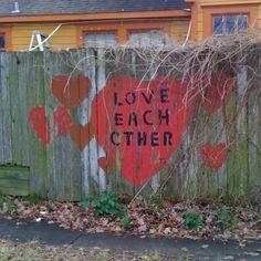 Houston Texas art. Located in the Heights neighborhood. #love 1102 Shepherd Dr.,