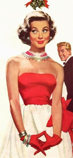 Pin Up by Jon Whitcomb Pin Up Vintage, Vintage Beauty, 50s Vintage, Retro Images, Vintage Pictures, Dibujos Pin Up, Fashion Art, Vintage Fashion, Illustration Noel