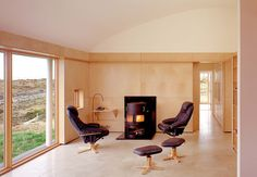 Birchply - A solid weatherproof plywood Modern Family Room by Dublin Architects & Building Designers Dorman Architects Modern Family Rooms, Plywood Panels, Weekend House, Guest Bedrooms, Floor Chair, Home Furniture, Building A House, Interior Design, Architects