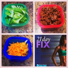 Brooke's blog: TACO SALAD (21 Day Fix approved)