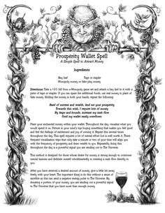 Prosperity wallet spell
