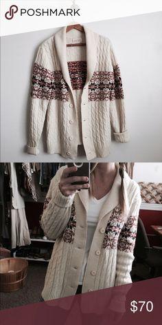 fd1c88145af1 Vintage 70 s sweater Men s size small fits women s medium m-large.  Excellent vintage condition
