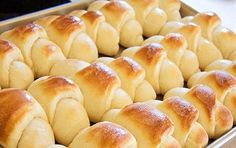 Easy Homemade Rolls.  Easy is relative for me, because all the butter, the rising, the kneading was a little much for me.  But they were really good!  (just make sure you let them rise enough or they end up dense and undercooked...!)