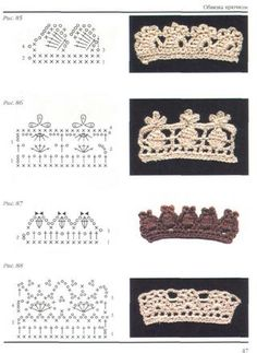 Crochet Edgings - Chart