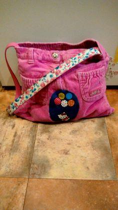 Kinder Tasche aus alter Hose