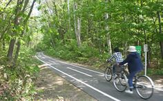Shiroishi Cycling Roads:  A great escape from the heat of Honshu.  Go north, go north.