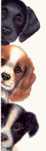 Desenhos Para Pinturas e Decoupage: Cachorrinhos