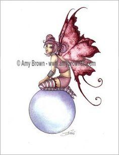 Fairy liquid Rosy Bubble ©Amy Brown Rosy Bubble©
