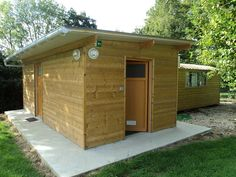 CUISINE & SANITAIRES EXTERIEURS Shed, Outdoor Structures, Nature, Kitchens, Naturaleza, Nature Illustration, Outdoors, Sheds, Tool Storage
