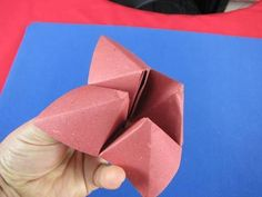 Origami gioco  inferno e paradiso How to Make a Paper Fortune Teller, finalmente ho trovato come fare questo, da bambina adoravo giocarci
