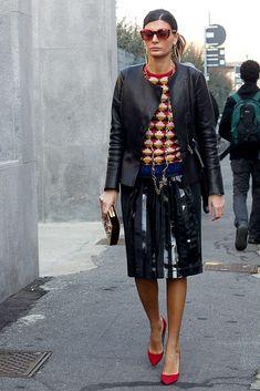 En Mil�n Fashion Week Oto�o-Invierno 2013