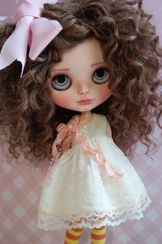 OOAK Custom Blythe Doll KRISSIE by by BlythebyCihui