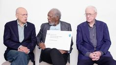 Morgan Freeman, Michael Caine, and Alan Arkin Answer the Web's Most Searched Questions on the Scene: https://thescene.com/watch/wired/google-autocomplete-inverviews-morgan-freeman-michael-caine-and-alan-arkin-answer-the-web-s-most-searched-questions